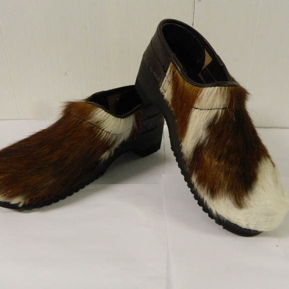 e1344fd67533 Clumpy s Clogs Shoes - Clumpys Clogs Cow Leather Flexible Sole NEW